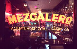 Window Sign, Mezcalero Bar, The Window Goddess